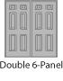 Double 6-Panel